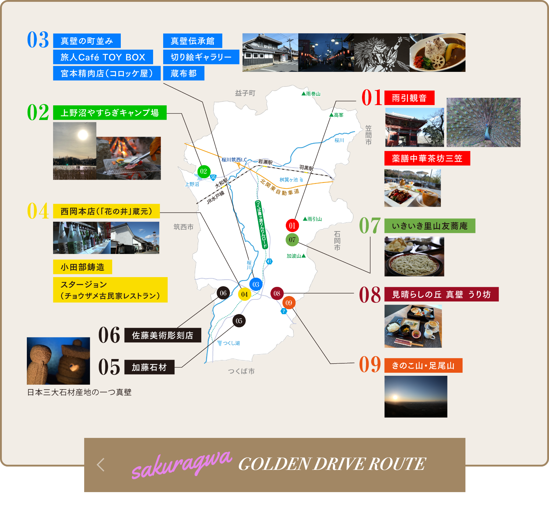 Back to Golden Drive Route