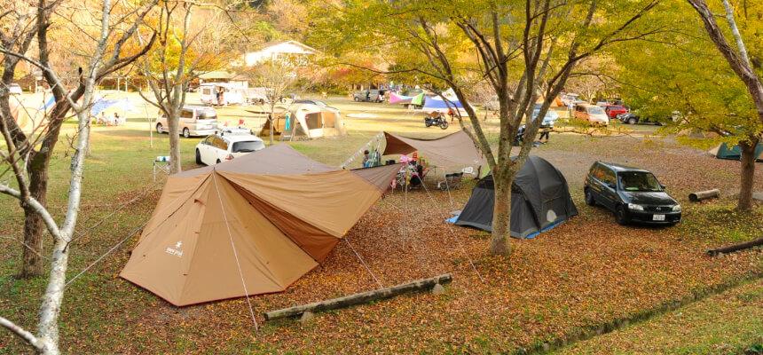 上野沼やすらぎの里キャンプ場